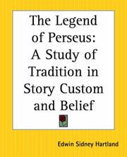 Cover of: The legend of Perseus
