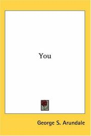 Cover of: You | George S. Arundale