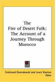 Cover of: The Fire of Desert Folk