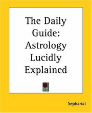 Cover of: The daily guide
