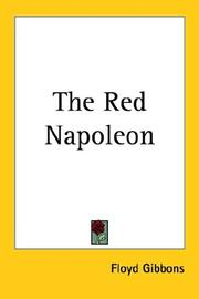 Cover of: The Red Napoleon