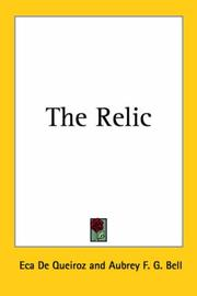 Cover of: The Relic
