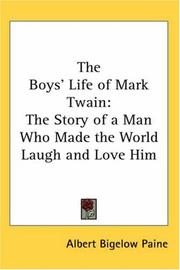 The Boys' Life of Mark Twain by Albert Bigelow Paine