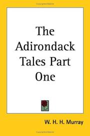 Cover of: The Adirondack Tales Part One