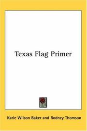 Cover of: Texas Flag Primer