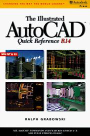Cover of: The illustrated AutoCAD quick reference guide R14