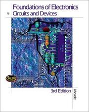 Cover of: Foundations of electronics, circuits and devices
