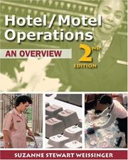 Cover of: Hotel/motel operations