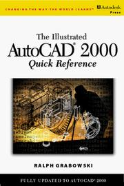 Cover of: The illustrated AutoCAD 2000 quick reference