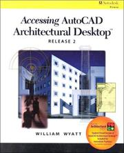 Accessing AutoCAD Architectural Desktop, release 2