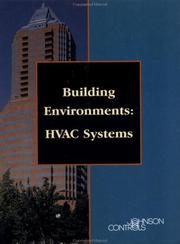 Cover of: Building Environments | Thomson Delmar Learning