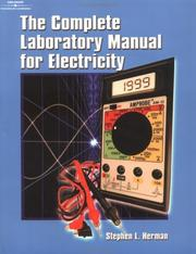 Cover of: Complete Lab Manual for Electricity