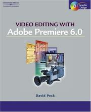 Cover of: Video editing with Adobe Premiere 6.5