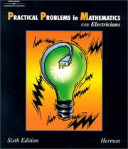 Cover of: Practical Problems in Mathematics for Electricians, 6E (Delmar's Practical Problems in Mathematics Series)