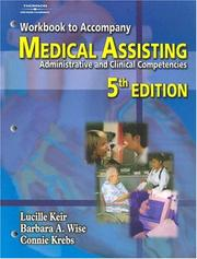 Medical Assisting by Lucille Keir, Barbara A. Wise, Connie Krebs