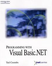 Cover of: Programming in Visual Basic.NET