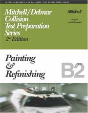 Cover of: ASE Test Prep Series -- Collision (B2): Painting and Refinishing
