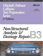 Cover of: ASE Test Prep Series -- Collision (B3): Non-Structural Analysis and Damage Repair