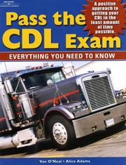 Cover of: Pass The CDL Exam | Alice Adams