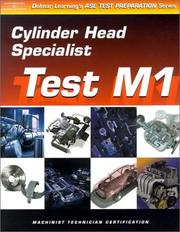 Cover of: ASE Test Preparation for Engine Machinists - Test M1