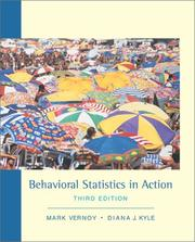 Cover of: Behavioral statistics in action