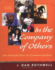 Cover of: In the company of others | J. Dan Rothwell