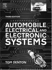 Cover of: Automobile Electrical and Electronics Systems, Third Edition (R-363)