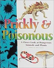 Cover of: Prickly and Poisonous