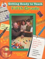 Cover of: Getting Ready to Teach Fifth Grade