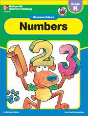 Cover of: Classroom Helpers Numbers, Grade K (Classroom Helpers) | School Specialty Publishing
