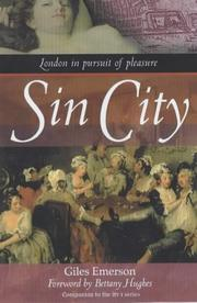 Cover of: Sin City | Bettany Hughes