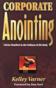 Cover of: Corporate anointing