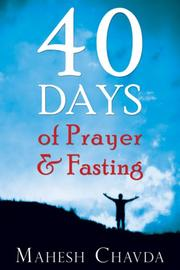 Cover of: 40 Days of Prayer and Fasting