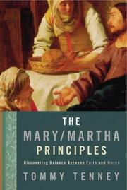 Cover of: The Mary Martha Principles | Tommy Tenney
