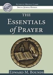 Cover of: The Essentials of Prayer