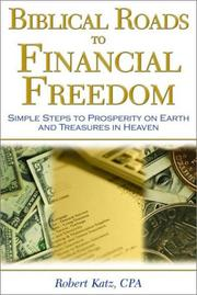 Cover of: Biblical Roads to Financial Freedom