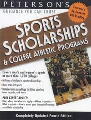 Cover of: Sports Schlrshps & Coll Athl Prgs 2000 | Peterson