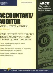 Cover of: Arco Accountant Auditor