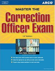 Cover of: Correction Officer 14/e
