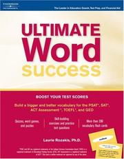 Cover of: Ultimate word success