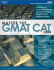 Cover of: Master the GMAT CAT 2004