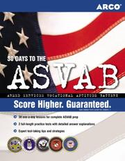 Cover of: 30 days to the ASVAB | Linda Bernbach