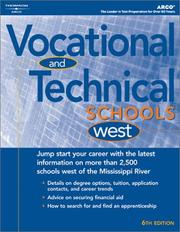 Cover of: Vocational & Technical Schools-West 2004 | Peterson's
