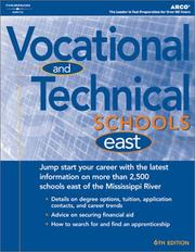 Cover of: Vocational & Technical Schools East 2004 | Peterson