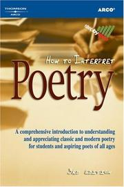 Cover of: How to interpret poetry