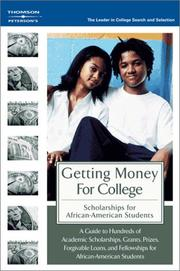 Cover of: Getting Money for College | Peterson