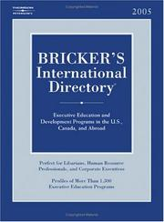 Cover of: Bricker