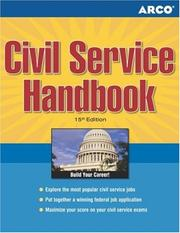Cover of: Civil Service Handbook, 15/e (Arco Civil Service Test Tutor) | McKay, Arco Publishing