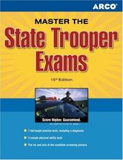 Cover of: Master the State Trooper Exam 15th edition (State Trooper Exam)
