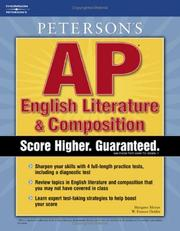 Cover of: Master the AP English Literature & Composition, 1st edition (Master the Ap English Literature & Composition Test) | Peterson